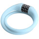 Red Cycling Products High Secure Silicon kabelslot blauw